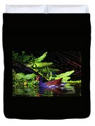 The Common Gallinule Duvet Cover