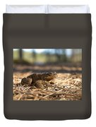 The Common Toad 4 Duvet Cover