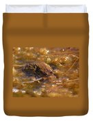 The Common Toads 2 Duvet Cover