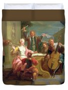 The Concert  Duvet Cover by Etienne Jeaurat