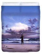The Conductor Duvet Cover by Jerry LoFaro