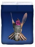 The Conductor Of Hummer Air Orchestra Duvet Cover