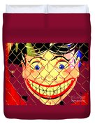 The Coney Smile Duvet Cover