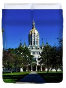 The Connecticut State Capitol Duvet Cover