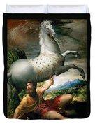 The Conversion Of Saint Paul Duvet Cover
