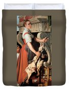 The Cook Duvet Cover