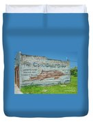 The Cool Coast Camp Duvet Cover
