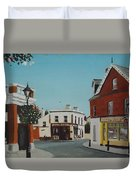 The Corner Note, Dalkey Duvet Cover