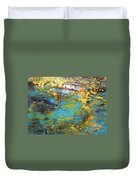 The Cottage By The Lagoon Duvet Cover