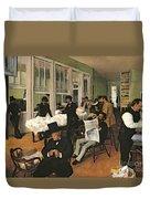 The Cotton Exchange Duvet Cover
