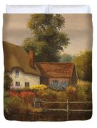 The Country Cottage Duvet Cover