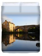 The County Bridge Duvet Cover