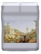 The Course Of Empire - The Consummation Of The Empire Duvet Cover