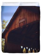The Covered Bridge Duvet Cover