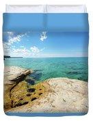 The Coves On Lake Superior - Beaver Basin Duvet Cover