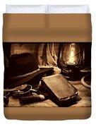 The Cowboy Bible Duvet Cover
