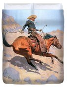 The Cowboy Duvet Cover