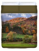 The Cows Are In The Dell  Duvet Cover