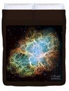 The Crab Nebula Duvet Cover