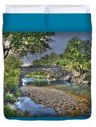 The Crabb Creek Bridge Duvet Cover