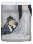 The Cradle Duvet Cover by Berthe Morisot