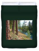 The Creek Duvet Cover by Nancy Harrison