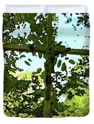 The Cross In Nature Duvet Cover
