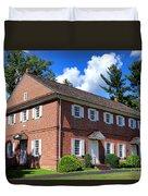 The Crosswicks Meeting House In Chesterfield  Duvet Cover