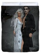 The Crows Wedding Duvet Cover