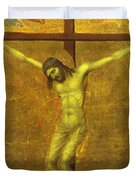 The Crucifixion 1311 Duvet Cover