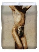The Crucifixion 1880 Duvet Cover