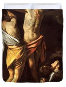 The Crucifixion Of Saint Andrew Duvet Cover