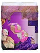 The Cubist Scream Duvet Cover
