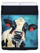 The Curious Cow Duvet Cover