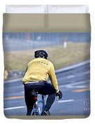 The Cyclist Duvet Cover