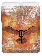 The Da Vinci Flying Machine Duvet Cover