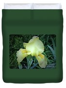 The Dainty Side Of An Iris Duvet Cover