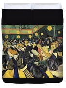 The Dance Hall At Arles Duvet Cover by Vincent Van Gogh