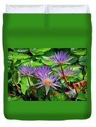 The Dance Of The Lillies Duvet Cover