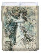 The Dance Duvet Cover by Pierre Auguste Renoir