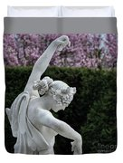 The Dancing Lesson Statue Duvet Cover