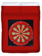The Dart Board Duvet Cover
