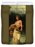 The Daughter Of Herodias, Salome Duvet Cover