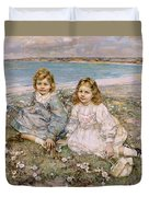 The Daughters Of Bertram Roberts Duvet Cover