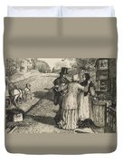 The Day In The Country  Duvet Cover