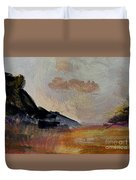 The Day's Glow Duvet Cover