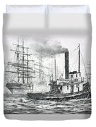 The Days Of Steam And Sail Duvet Cover