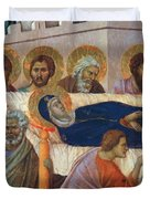 The Death Of Mary Fragment 1311 Duvet Cover