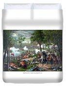 The Death Of Stonewall Jackson Duvet Cover