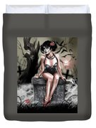 The Deaths Of Pete Tapang Duvet Cover by Pete Tapang